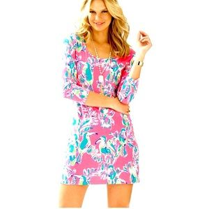 NEW LILLY PULTZER BEACON COTTON TEE SHIRT DRES